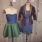 Hollie Thomas designed plenty of clothing throughout her time as an undergrad.
